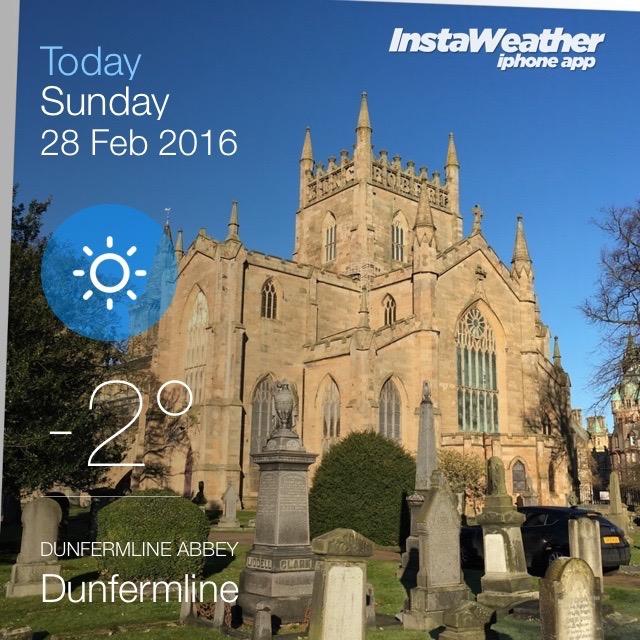 Abbey Weather 2016