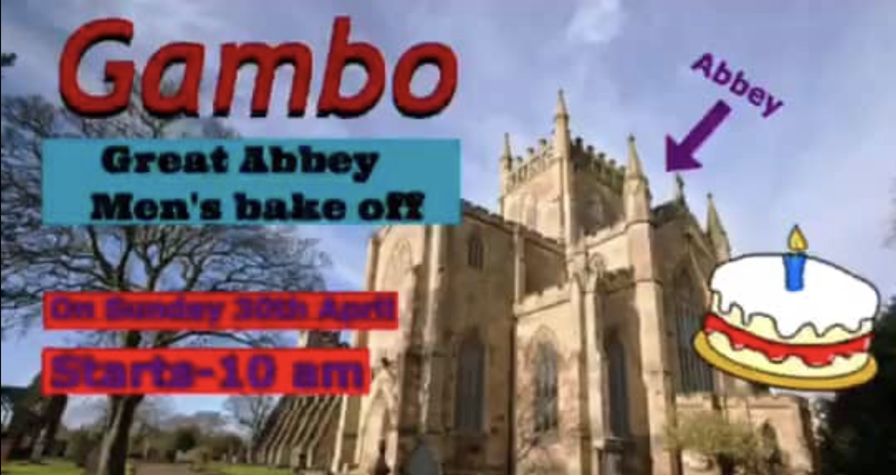 GAMBO – Great Abbey Men's Bakeoff